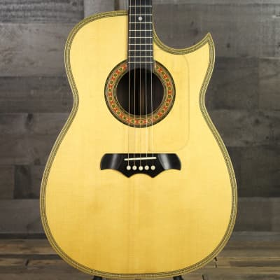 Pre-Owned 1970 Custom Made Bozo Podunavac 5-String Flat Top Acoustic with Guild Hardshell case for sale