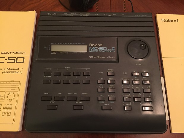Vintage roland mc-50 micro composer midi sequencer mc50 mkii | reverb.