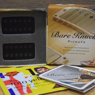 Bare Knuckle Warpig Set, Ceramic Bridge, Black, 50mm, 4 Conductors - BKP036