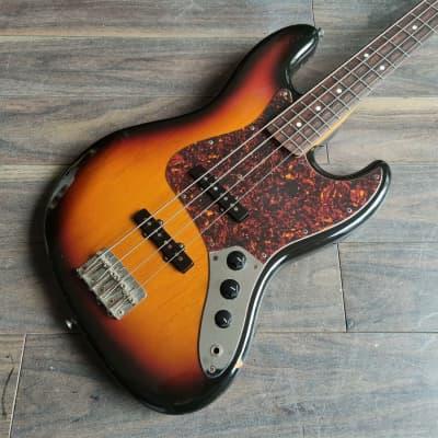 2003 History (Fujigen) Japan ZJ-CFS Jazz Bass (Sunburst) for sale