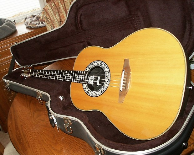 1982 Ovation 1612 Acoustic Electric Guitar - Near Mint ...