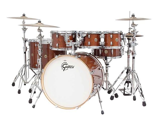 gretsch catalina maple 6 piece drum set walnut glaze reverb. Black Bedroom Furniture Sets. Home Design Ideas