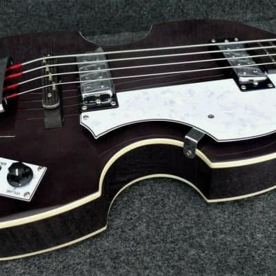 Hofner HCT-500/1 Contemporary Series Violin Bass Matte Black