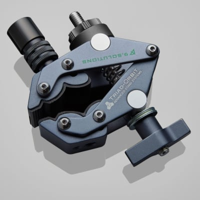 Triad-Orbit IO-Equipped Grip Clamp