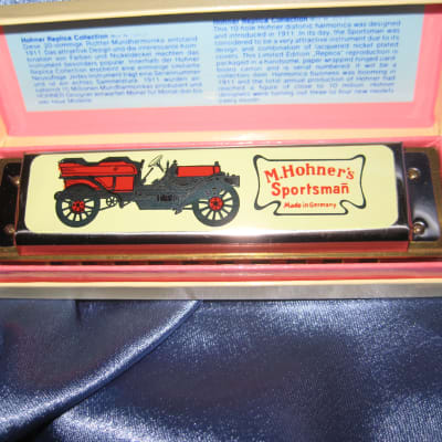 Hohner Sportsman Harmonica Made in Germany Marine Band Style 10 Hole