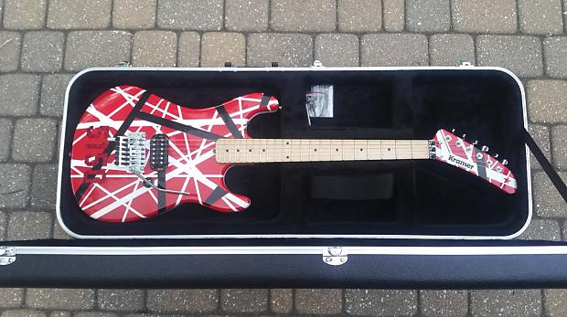 Mean Street Guitars Kramer 5150 Van Halen Evh Replica W Reverb