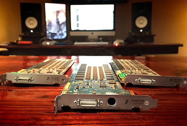 Audio/midi Interfaces Pro Audio Equipment Lovely Digidesign Avid Protools Hd Accel Pcie Card In Many Styles