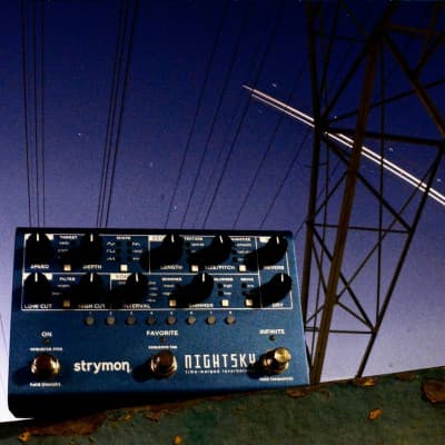 Strymon NightSky Time Warped Reverberator