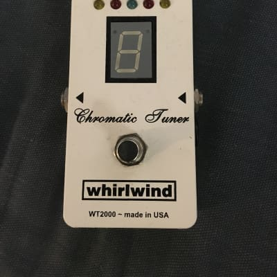 Whirlwind WT2000 Tuner  White for sale
