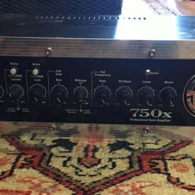 SWR 750x Bass Amp 750 Watts Of USA Made! for sale