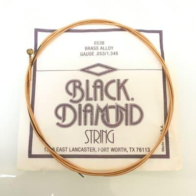 Vintage Black Diamond 053B Brass Alloy String .053