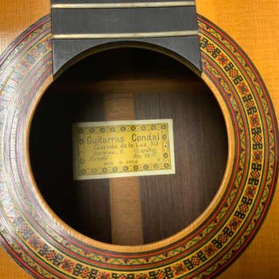 Guitarras condal Guitarras Condal Classical 1966 Natural 1966 Natural for sale