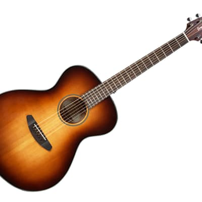 Breedlove Discovery Series Concert Sunburst Hollow Body Acoustic Guitar Ovangkol/Sitka Spruce - DSCN14SSMA3