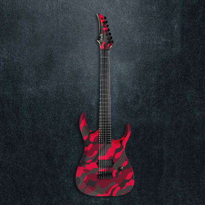 Ormsby DC GTR 7 string Baritone 2020 Blood Camo for sale