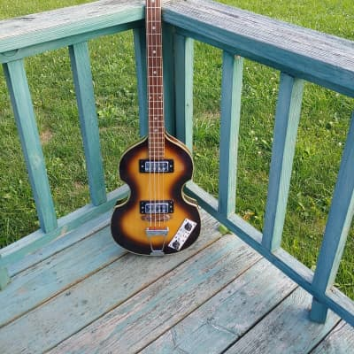 Kingston Beatle Bass 1970's Tobacco for sale