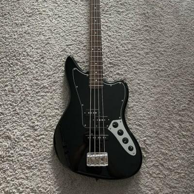Squier Fender Vintage Modified Jaguar Bass Special 2013 Black 4-String Guitar