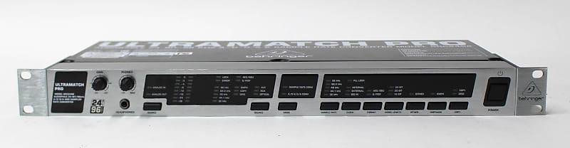Behringer Ultramatch Pro SRC2496 24-bit// 96KHz A//D /& D//A Converter