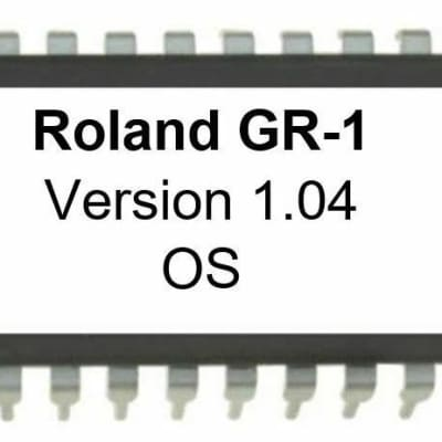Roland GR-1 - Version 1.04 Firmware OS Update EPROM for GR1 Guitar Synthesizer
