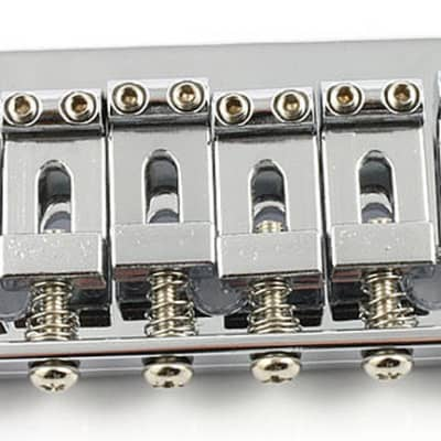 Allparts hardtail non tremolo bridge - Chrome for sale
