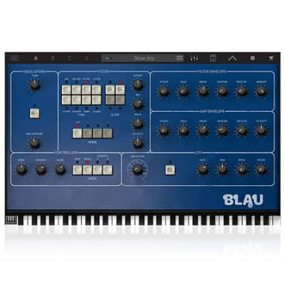 Syntronik Blau Synth [Digital Download]