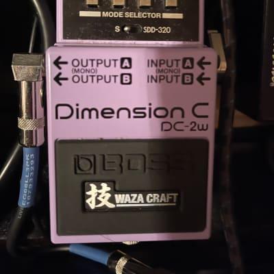 Boss DC-2W Dimension C Chorus Waza Craft