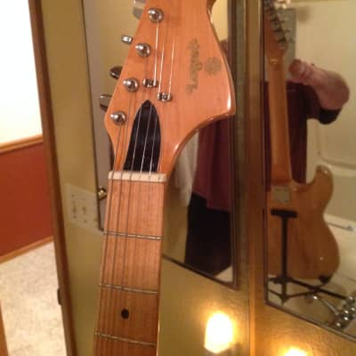 Lotus Stratocaster 70's Stratocaster w/ the Fender Lawsuit Era / Fender ST-Style Copied Headstock for sale