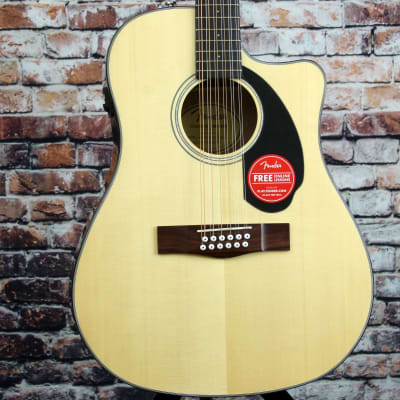 Fender CD-60SCE 12-String Dreadnought Acoustic Guitar for sale