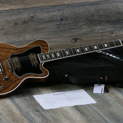 Kauer Starliner Deluxe 2019 Walnut One Of a Kind Guitar + Lollar Goldfoils + OBG for sale