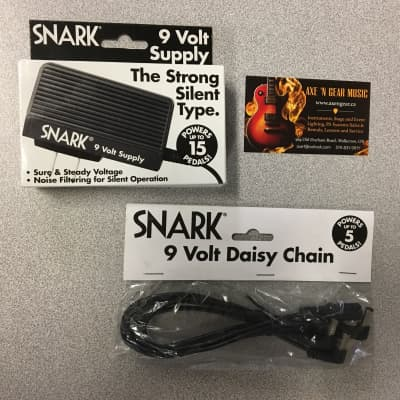 Snark SA-1 9 Volt Power Supply WITH Snark SA-2 Daisy Chain Bundle Pack, $AVE! for sale
