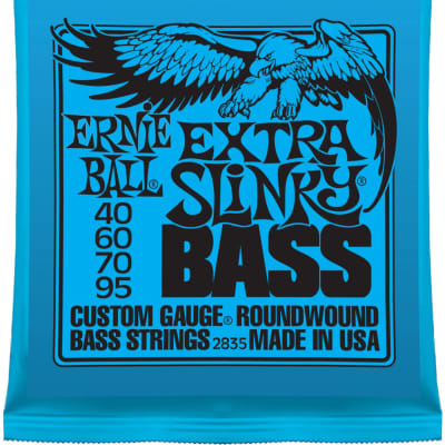 Ernie Ball 2835 Extra Slinky Electric Bass Strings