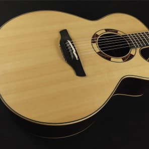 Takamine TSF48C Santa Fe Acoustic/Electric Cutaway - Natural - Tube Preamp Japanese Made for sale