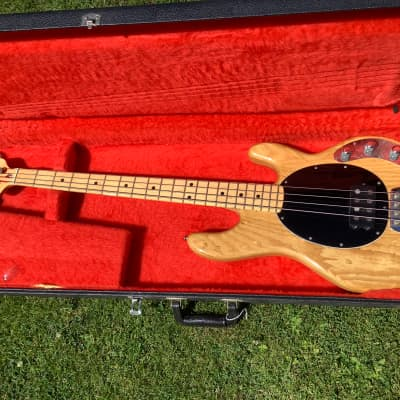 Music Man Stingray Bass 1979 Natural for sale