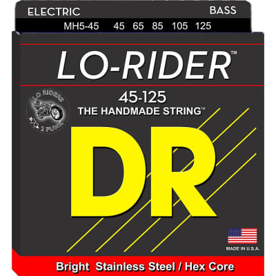 DR LO-Rider 5 String Bass Set