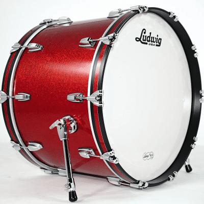 "Ludwig LB864 Classic Maple 16x24"" Bass Drum"