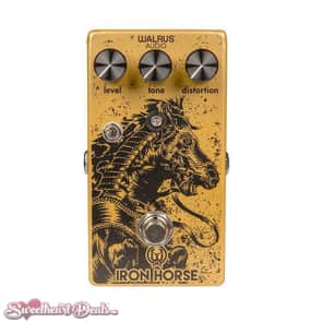 Walrus Audio Iron Horse Distortion LM308 V2 Guitar Effect Pedal for sale