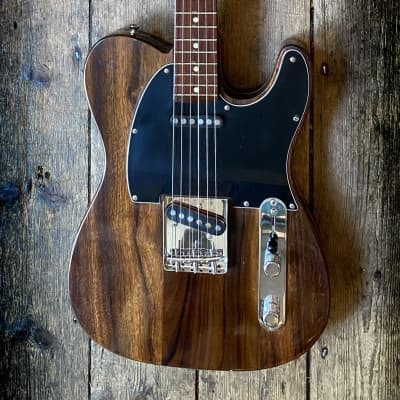 Philippe Dubreuille bespoke Custom made Rosewood Tele for sale