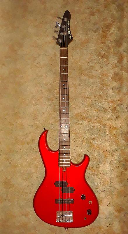 Aria Pro Ii The Cat Vintage 80s Bass Guitar Guitar Reverb