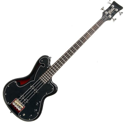 Italia Imola 4-String Electric Bass Guitar - Vintage Redburst for sale