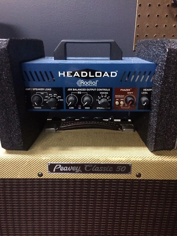 radial headload v4 speaker load box with cab simulator 2016 reverb. Black Bedroom Furniture Sets. Home Design Ideas