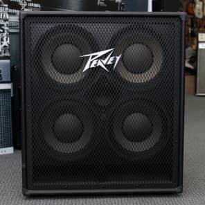 Peavey 410 TVX 300-Watt 4x10 Bass Speaker Cabinet with Horn Tweeter