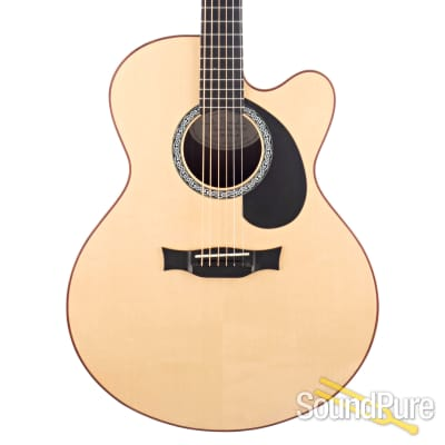Buscarino Carved Back Flat-Top Acoustic #SBU592105 - Used for sale