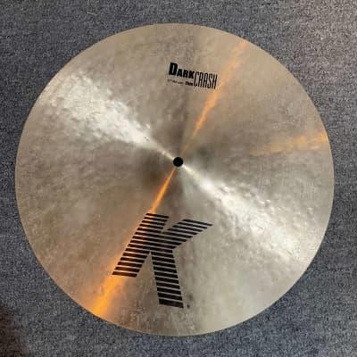 "Zildjian 17"" K Series Dark Thin Crash Cymbal"