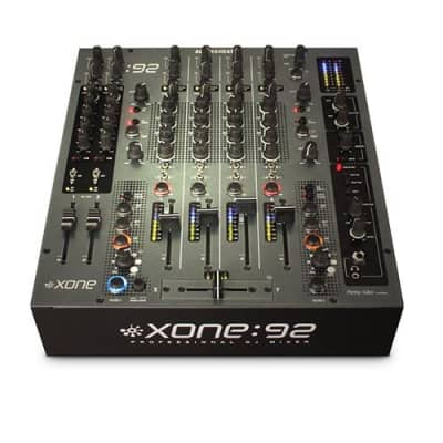 Allen & Heath Xone:92 Professional 6 Channel Club/DJ Mixer With Faders, 5Hz-30kHz Frequency Response
