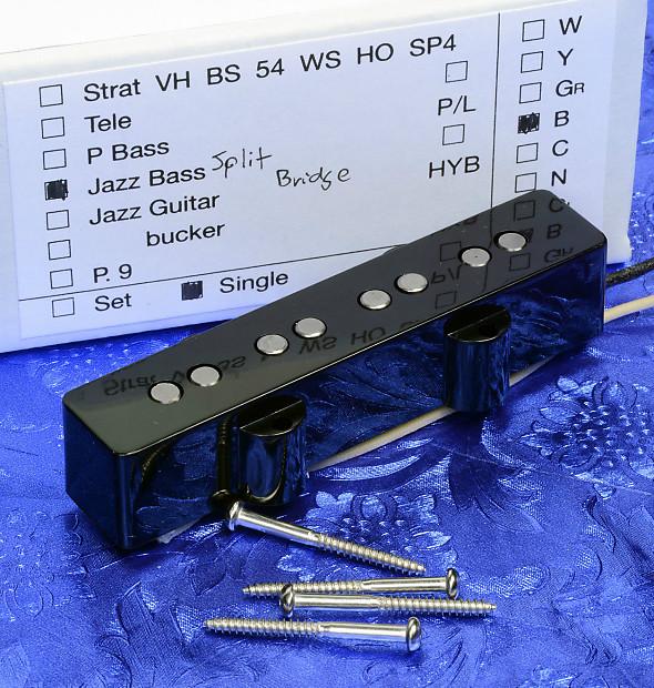 lindy fralin premium upgrade jazz j bass bridge pickup split reverb. Black Bedroom Furniture Sets. Home Design Ideas