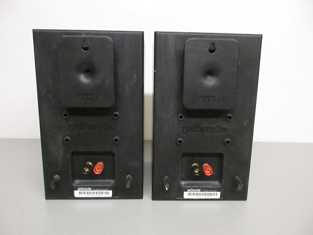 Polk Audio Rt15i Bookshelf Speakers  Pair