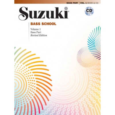 Suzuki Bass School Book 3