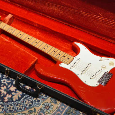 Fender USA Stratocaster Fiesta Red 1973'