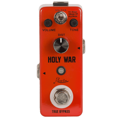 Rowin LEF-305 Holy War Heavy Metal Distortion Guitar Effect pedal True Bypass Ships Free