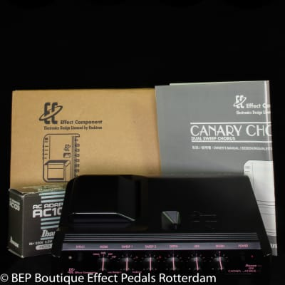 Ibanez EC-40 Canary Chorus s/n 000493 Japan 1994 Effect Component Series - EC Series