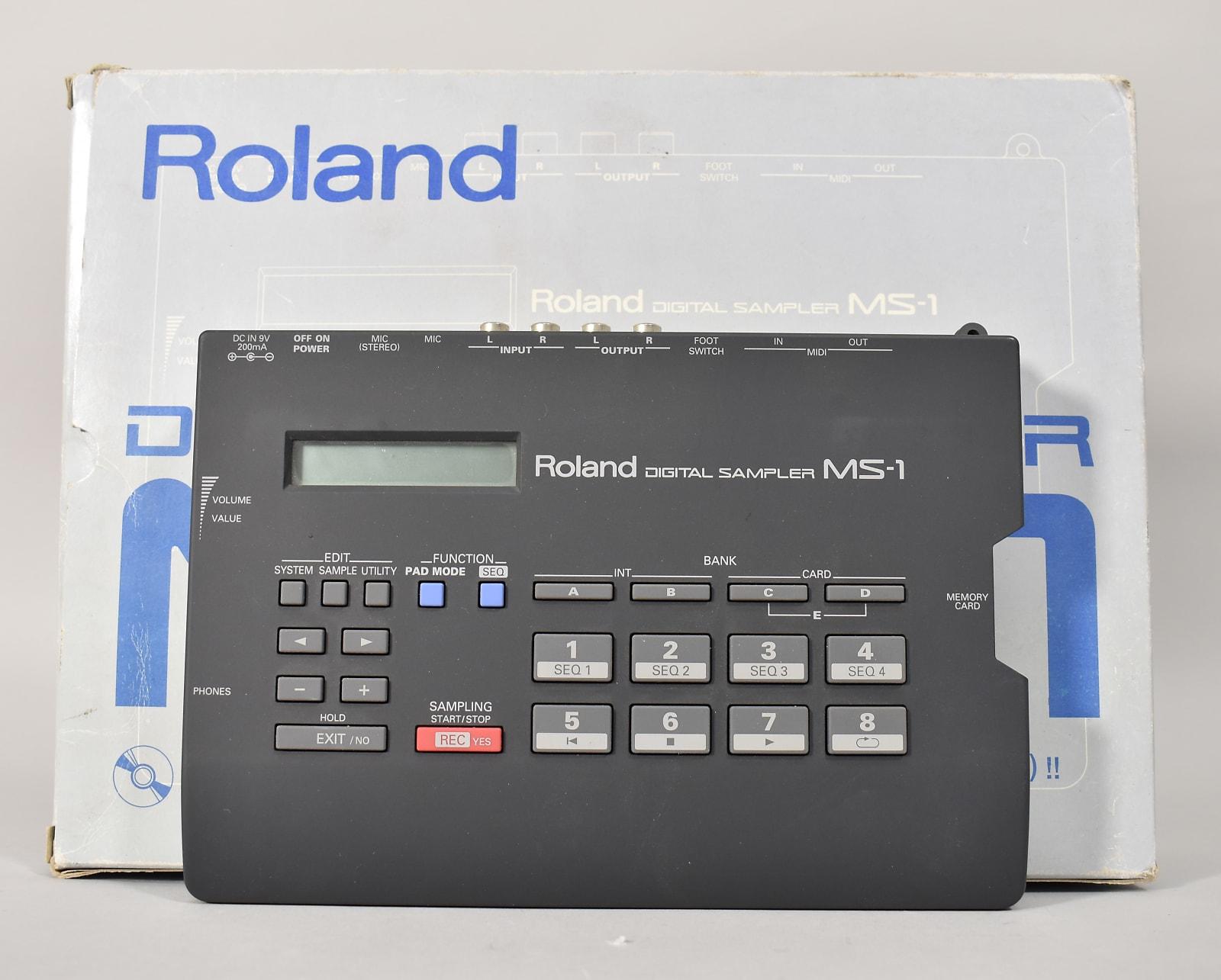 Roland MS-1 Grey Digital Sampler Made In Japan